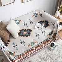 Decken Böhmische Gestrickte Decke Decke Stuhl Lounge Bett Plaid Aztec Tapestry BettSpread Outdoor Beach Sandy Handtuch Sofa Cover