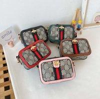 Kinder Designer-Taschen Marke Kinder Handtasche Brief Drucken Baby Bag Mini Schulter Handtaschen Kind Geldbörse Großhandel