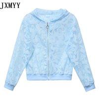 Estate versione coreana di All-Match Elegante Stampa Protezione solare Abbigliamento Giacca sottile Cappotto Donne Jxmyy Giacche da donna