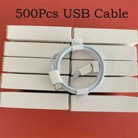 500 teile / los 7 Generationen Original OEM-Qualitätskabel 1M / 3FT 2M / 6FT USB-Daten Sync-Ladekabel mit Paket