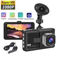 HD 1080P Dash Cam Carnet DVR Enregistreur vidéo Enregistreur de cycle Enregistreurs Enregistreurs Vision Night Vision Plage de la caméra Dashcam Caméra Greffière