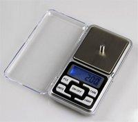 Mini escala de bolsillo electrónico 200g 0.01g Jewelry Diamond Scale Balance Scale Pantalla LCD con paquete de venta al por menor