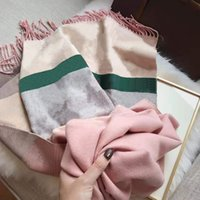 Mode Kvinnor Silk Scarf Newarrival Man Kvinnor 4 Seasons Shawl Scarve Lattice Letters Scarves Multi Styles Box valfri toppkvalitet