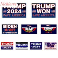 3*5 FT Trump Won Flags 2024 Election Banners Donald The Mogul Save America 150*90cm Flags DHL Shipping