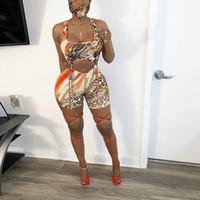 ليوبارد المرأة مثير الجوف خارج جلد playsuits بذلة ارتداءها bodycon الشارع الشهير الإناث الرياضة قصيرة عارضة حزب الملابس