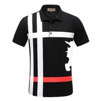 Diseñador Moclair Polos de los hombres Lleve de lujo Bordado para hombres Mujeres Polo Camisa de Polo Moda Doble Bead Marca Boutique Color Sólido Top Tizes cortos