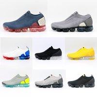 MOC 2.0 لا أربطة الحذاء الرجال النساء الاحذية الرجال المدربين الثلاثي الأصفر الأبيض العمل رياضة الأزرق الأحمر المدار الرياضية رياضية أحذية رياضية الحجم 36-45