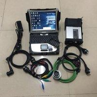 Ferramentas Diagnósticas MB Star SD Connect C5 com software SSD Est 360GB Instalação gratuita no PC CF19 Pronto para uso para testes de sistema de carro inteiro