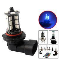 Car Control DRL Daytime Running Fog Light RGB H1 H3 H4 H11 9005 9006 H7 H8 LED 5050 27 SMD 27Smd Backup Decoration Lamp