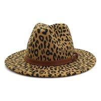winter hats for women fashion Flat wide Brim Panama Wool Felt Jazz Fedora Hat for men bonnet cowgirl vivenne westwood