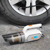 Car Electric air pump tyre inflators Hand-Held Vacuum Cleaner Air Pump Automatic Portable 25000Pa