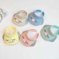 2021 fashion hat Macarone cute cartoon cub hairb children's cap with a big sun visor for boys girls in spring and summer