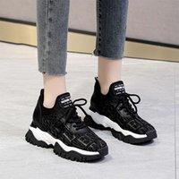 캐주얼 신발 Huji 2021 뉴 아빠 신발 여성 여분의 어린 이용 스포츠 온주 두꺼운 솔웨어 저항 캐주얼 28o7