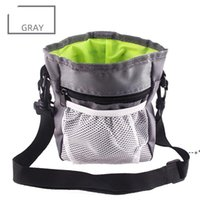 Multi-function Dog Pet Training Bag Portable Pets Outdoor Treat Sack Food Holder Adjustable Waist Belt Garbage Bags Folding Kit NHE9587