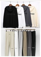 Essentials With Reflective Pants Men Women Designer Long Pant Spring Autumn Sports Running Jogger Oversize Tracksuit