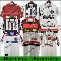 1992 1993 1994 1997 Sao Paulo Santos Botafogo Recife Retro Fútbol Jersey 2011 2012 Rafael Moura Corinthians Ronaldo Camisa de Fútbol Vintage 98 99 Bahia Classic Unifom