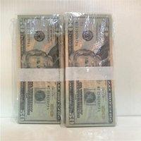 Качество бумаги Доставка 20-4 Копирование Валюта U.S. 100 Высокие кусочки / Пакет реквизит KQJDG Деньги оптом Быстрый Хойн
