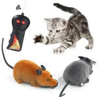 Cat Toys 1pcs Wireless Remote Control Electronic Rat Mouse Pet Mice Toy RC Prank Joke Scary Trick Bugs Puppy Kids Gifts