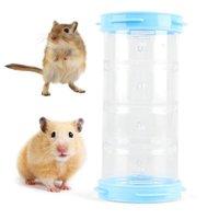 1 PZ Hamster Tube Toy Plastic FAI DA TE Diy Divertente Mouse Cage Tunnel Piccolo animale Tubo esterno Tubo Forniture per animali domestici Accessori