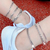 Flatfoosie Stainless Steel Anklet Bracelet For Women Fashion...
