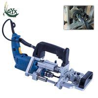 Professiona Electric Drills 3-in-1 공압 측면 구멍 기계 500W 수평 목공 가구 펀치 드릴 나무 테이네싱 드릴링