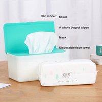 Tissue Boxes & Napkins Multifunction With Cover Masks Gloves Wet Towel Household Dustproof Napkin Paper Bag Desktop Storage