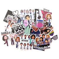 23Pcs Lot TV Show Greys Anatomy Funny Sticker PVC Scrapbooking for Luggage,Laptop,Phone,Water bottle,Car,home Decals DIY Stickers Doctors Gift
