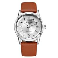 Relógios Homens de Cerâmica Mecânica Mecânica Blue Watch Watch Crown Automatic Sport Self-Wind WristWatches Chrono Chronograph Moda