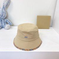 Luxury 2021 Fashion Designer Secchio Cappello Lettere Per il tempo libero Cappellino Pescatore di alta qualità Cappelli per uomo e donna 4 colori