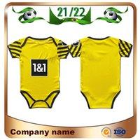 21/22 Baby Dortmund Borussia Fussball Jersey 2021 Home Haaland REUS Sancho Kinder Kit Set shirts Delaney Guerreiro 9-18 Monate Fußball