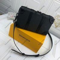 Luxurys Designer-Taschen Top-Qualität beschichtete Leinwand-Rindsleder-Trimm-Stoff-Futter-Gepäck-Stil verstärkte Ecke Reißverschluss Öffnen und Schließen im Großhandel