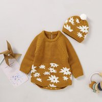 Rompers Baby Bodysuits Born Boys Girls Autumn Jumpsuits Caps Clothes Sets For Toddler & Infant Kids Bebes Outfits 0-18m Children Wear