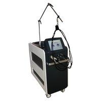 1064NM755NM الألياف الليزر آلة إزالة الشعر المهنية مع حجم بقعة قابلة للتغيير 5 مم -18 مم