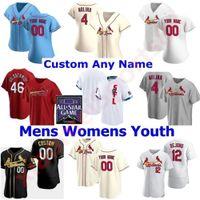St. Louis 28 Nolan Arenado Kardinal 2021 All-Star-Spiel Baseball-Jersey 4 Yadier Molina 46 Paul Goldschmidt 1 Ozzie Smith 13 Matt Carpenter