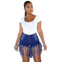 Moda donna nappa jeans pantaloncini in magazzino Denim Denim corto con stile europeo e americano Summer Streetwear B972 donne