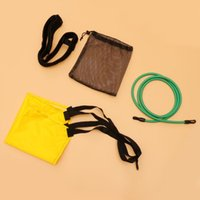 Pool & Accessories Swim Parachute Set Swimming Strength Training Resistance Belt With Drag For Adults Children