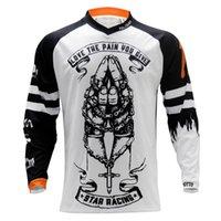 Yarış ceketler ruhu nimet pro moto jersey dağ bisikleti giyim mtb t-shirt dh mx bisiklet gömlek offroad haç motocross giymek