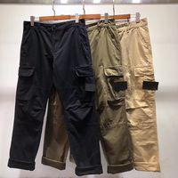 21fw Topstoney Multi-poche Combinaison Athion Hombre Mode Pantalon imprimé de luxe Casual Street Pantalons de luxe Designers Pantalon