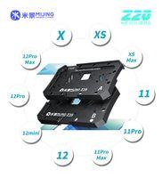 Mijing Z20 10 in 1 BGA Reballing Stencil Platform Fikstür Iphone X-12 Pro Max Anakart Orta Çerçeve Teneke Şablon Dikim