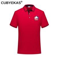 2021 Lille LoSc Футбол Поло рубашка мужская футболка с футболкой с коротким рукавом Бег Polos мужчина повседневная спортивные рубашки печать команда значок Asia Size S-6XL