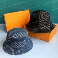 النساء مصمم دلو قبعة الرجال الأزياء الدنيم مصممين قبعات القبعات الرجال في الهواء الطلق جاهزة فيدورا عكسها قبعة casquette قبعة بيسبول