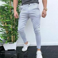Men's Pants 2021 Arrival Cn(origin) None High Straight Casual Regular Midweight Full Length Flat Button Broadcloth Shopping Fou