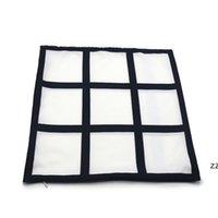 Sublimation Kissenbezug 6 Panels Kissenbezüge Wärmeübertragung Drucken Kissenbezüge Kundenspezifisches Geschenk DIY Blanks HWB8410