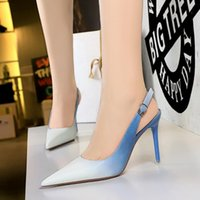 2022 summer heeled sandals slip Gladiator leather women's sandal thin heeleds shoe highs heels shoes fashion sexy letter cloth girl shoess with box large size 34-43