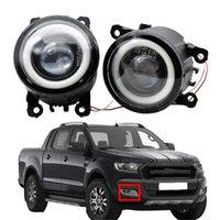 2pcs lot High quality Car Front Bumper LED fog Lights for ford Estate Sedan 2003-2014 Focus MK2 Hatchback DA_ 2004-2010