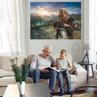 Peinture à l'huile légère sur toile Décor à la maison Headcrafts / HD Imprimer Art Art Photos Personnalisation est acceptable 21071015