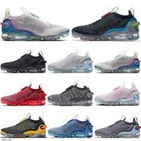 Nike Air Vapormax 2020 FK حك 2.0 1.0 الرجال الاحذية xamropavs يطير الرياضة الهرولة المشي المشي لمسافات طويلة أحذية النساء المدربين حجم 36-45