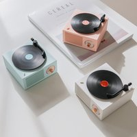 Creative vinyl record player Atomic bluetooth speaker outdoor subwoofer car portable