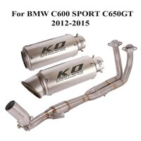51mm Full Exhaust Muffler Escape Header Connect Link Tube System per C600 Sport C650GT 2012-2021 Motociclo