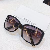 8062 Sonnenbrille Frauen und Männer Charmante Quadratmode Modische Gläser Hohe Qualität Diamantplatte Full Frame Anti-UV-Sonnenbrille in Kasten